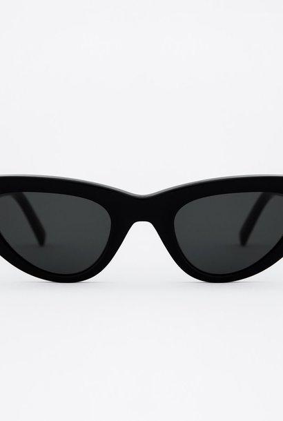 Moon Women Black Sunglasses