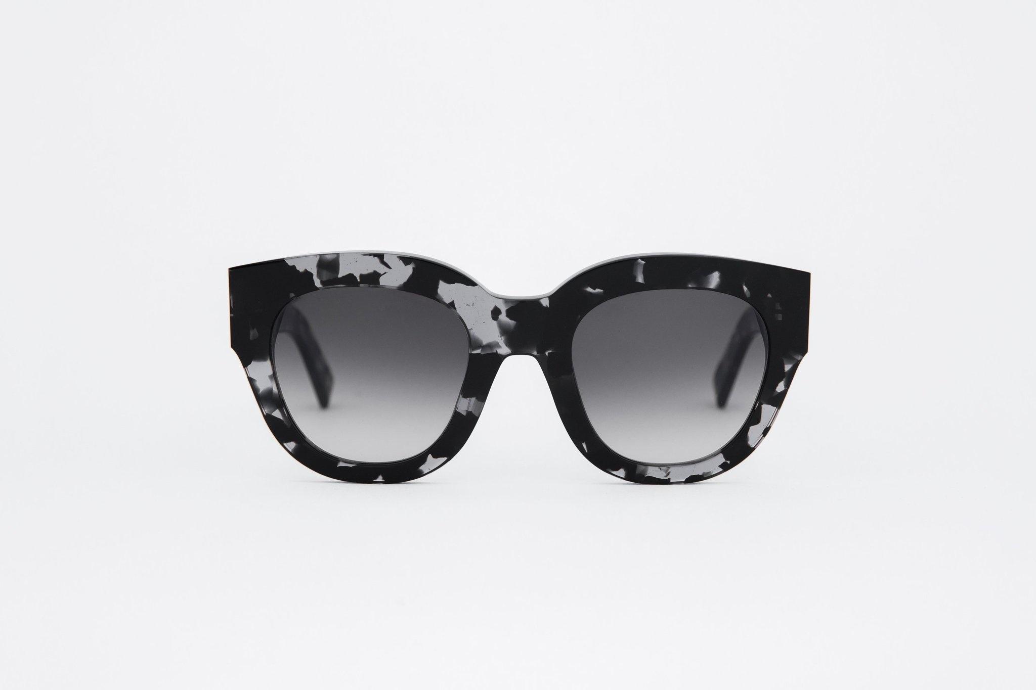 Cleo Black Grey Havana Sunglasses-1