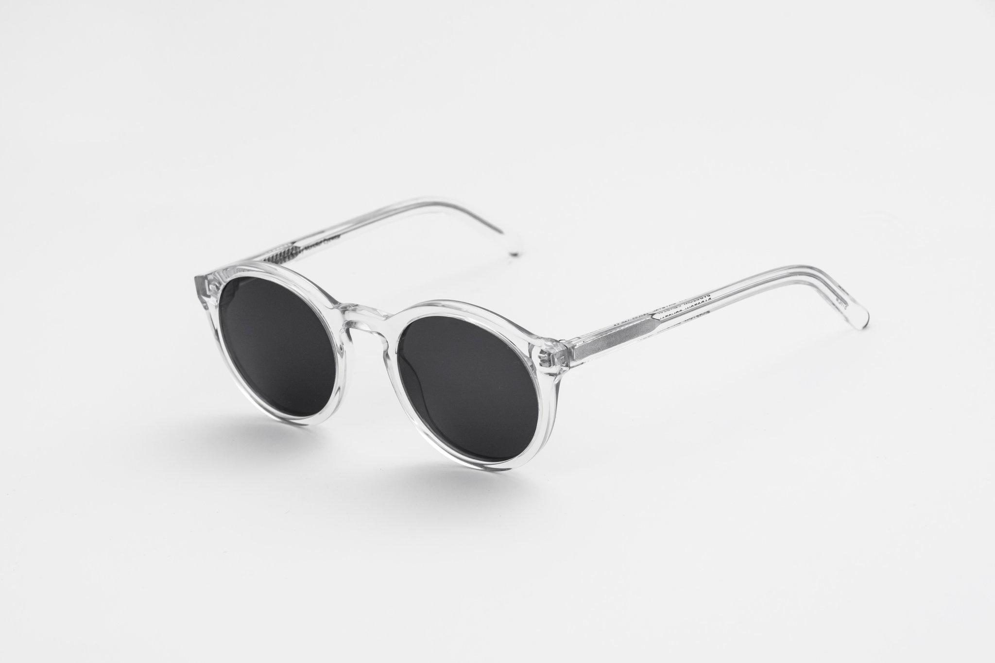 Barstow Crystal Clear Sunglasses-2