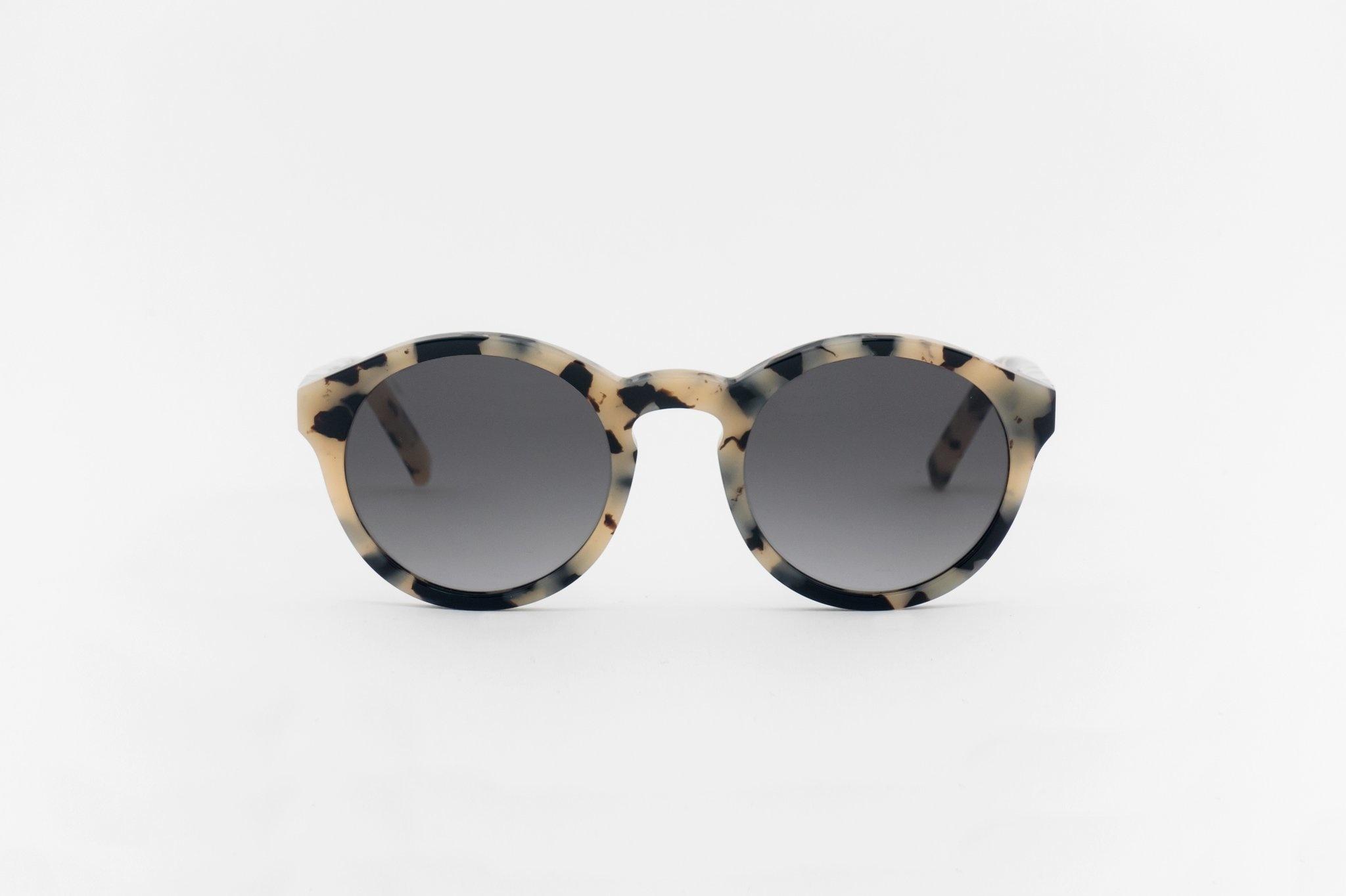 Barstow Black White Havana Sunglasses-1