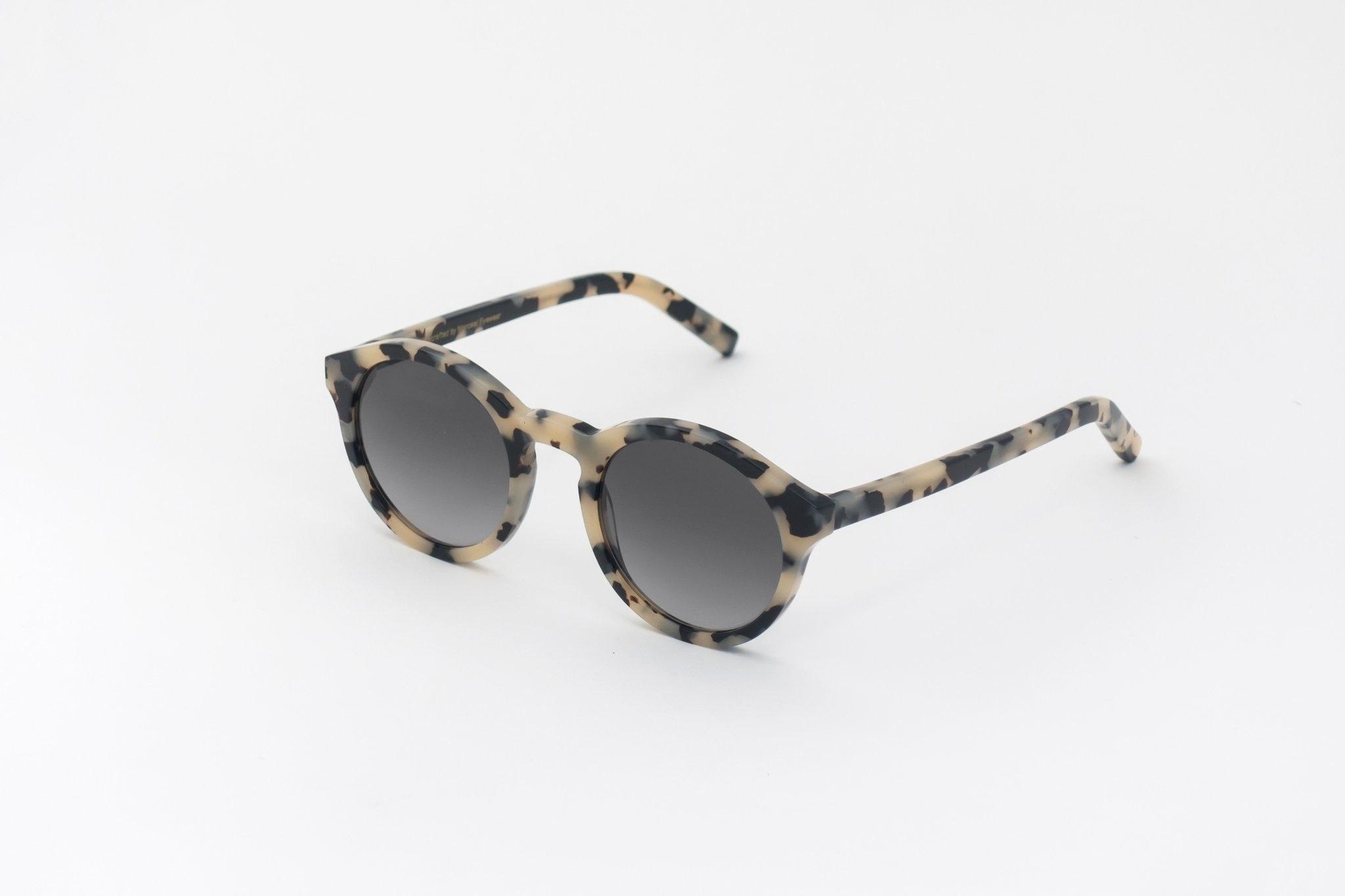 Barstow Black White Havana Sunglasses-2