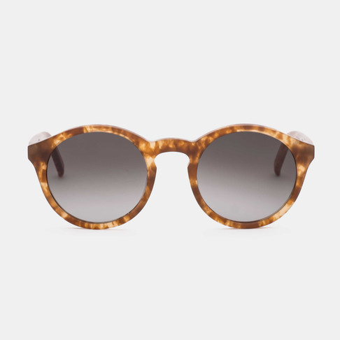 Barstow Marble Havana Brown Sunglasses-1