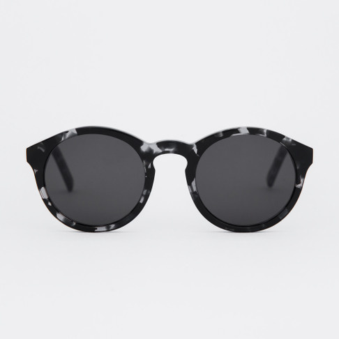Barstow Turquoise Black Clear Sunglasses-1