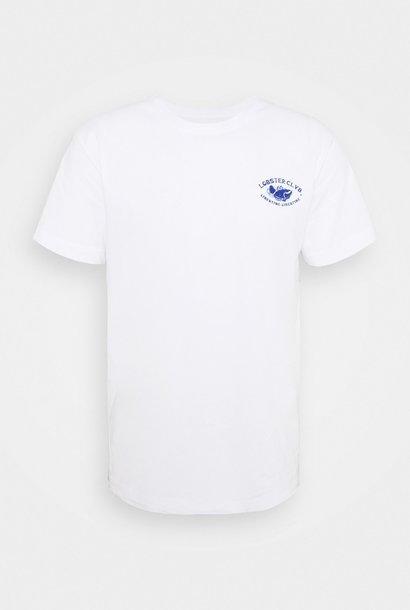 Beat Claw Print T-shirt Wit