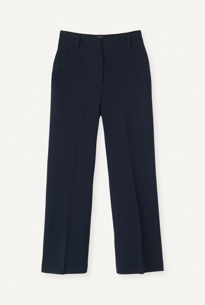 Flaw Straight Trouser Dark Navy