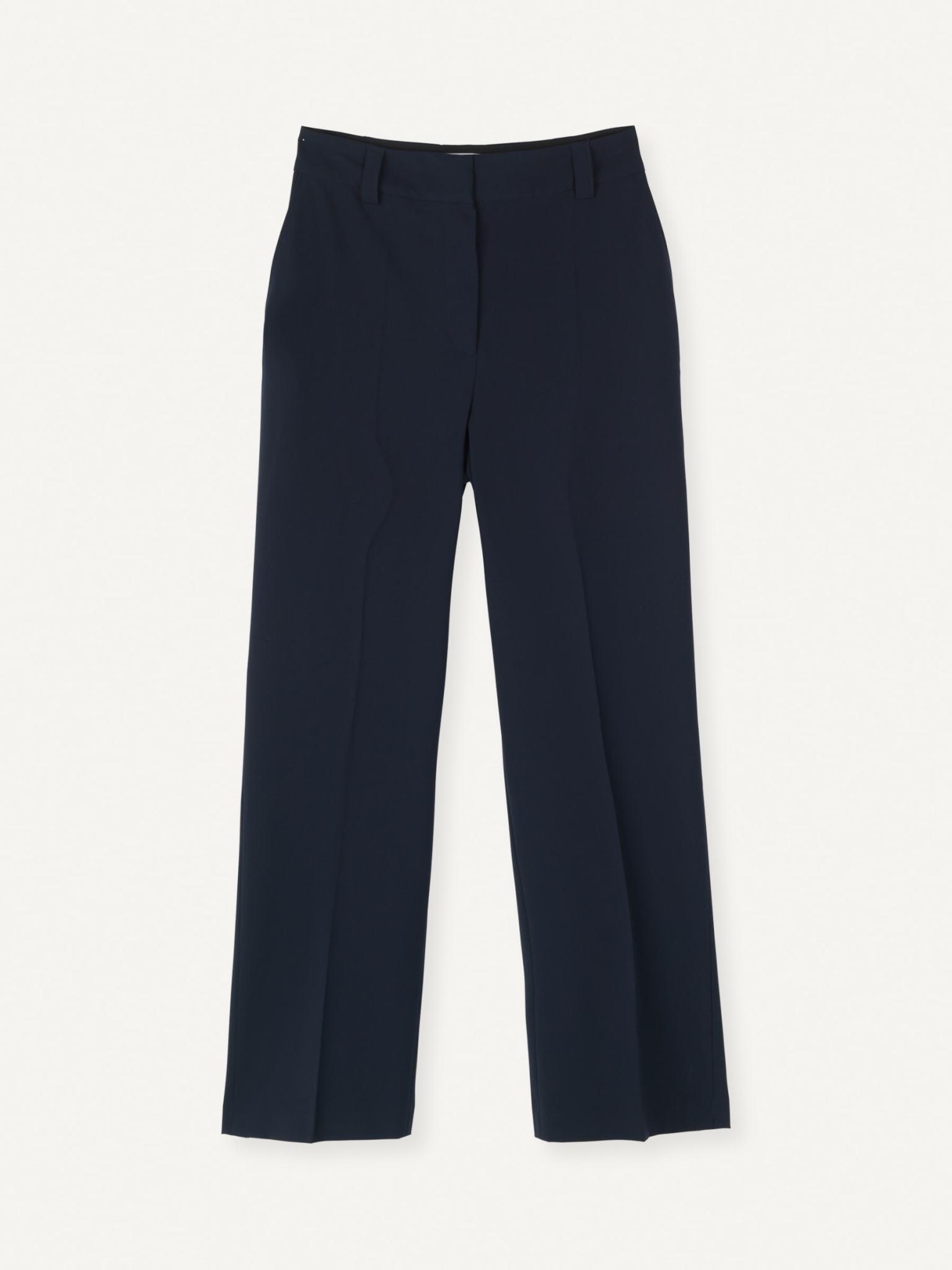 Flaw Straight Trouser Dark Navy-1