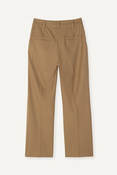 Flaw Straight Trouser Khaki
