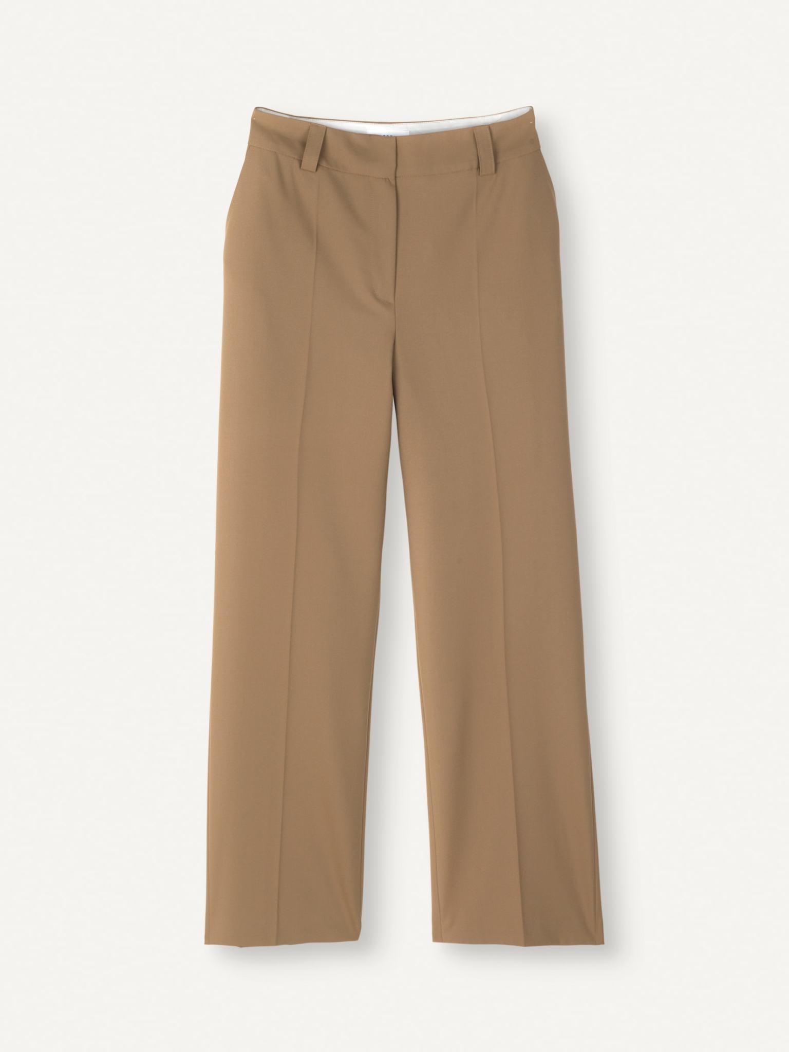 Flaw Straight Trouser Khaki-2