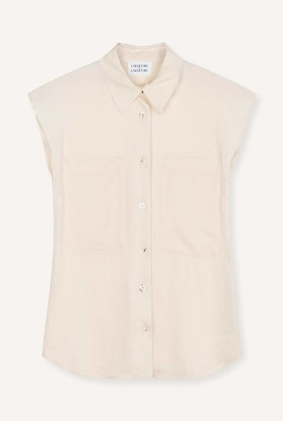 Allure Blouse Vanilla White