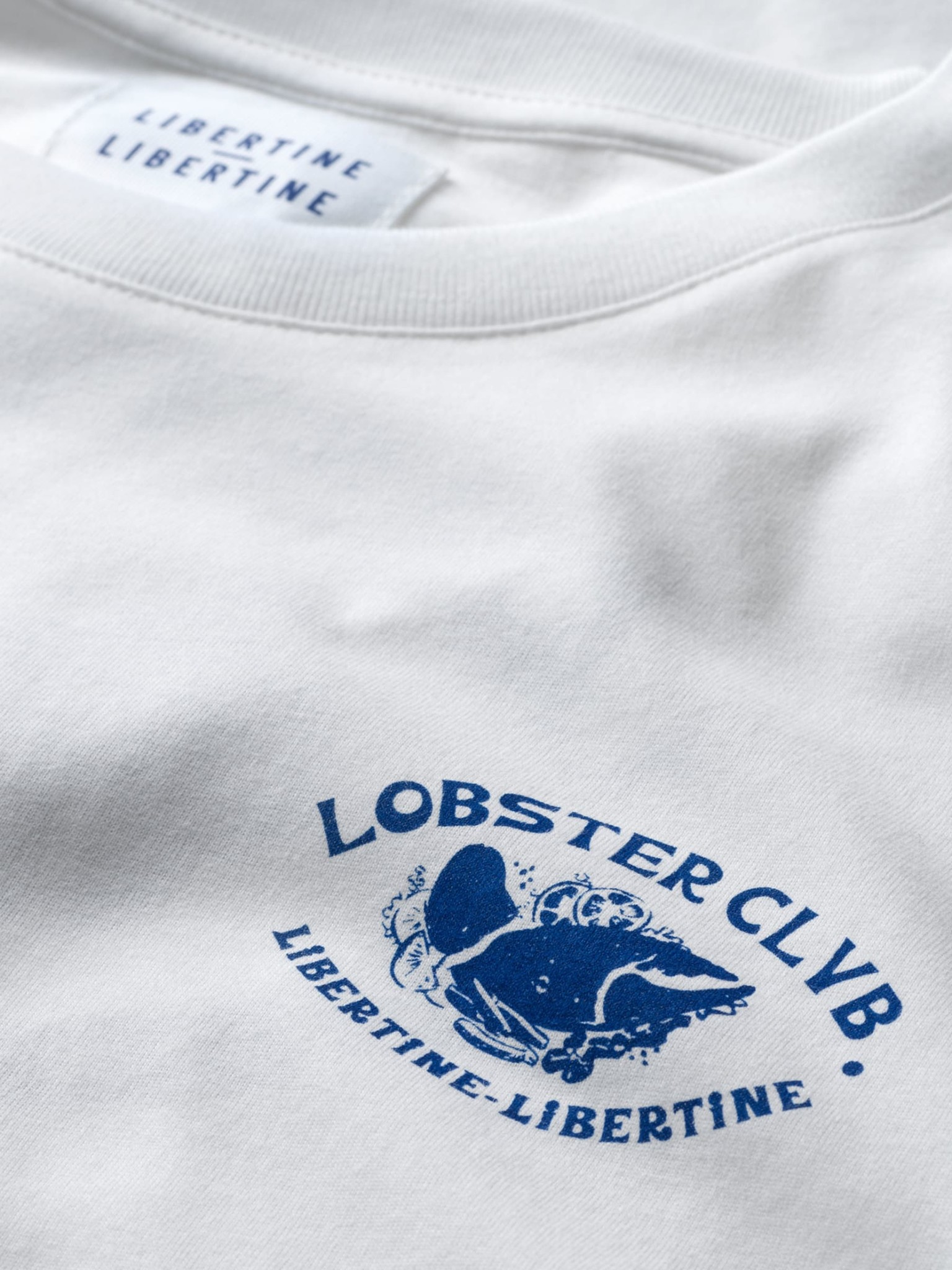 Libertine Libertine Beat Claw T-Shirt White-2