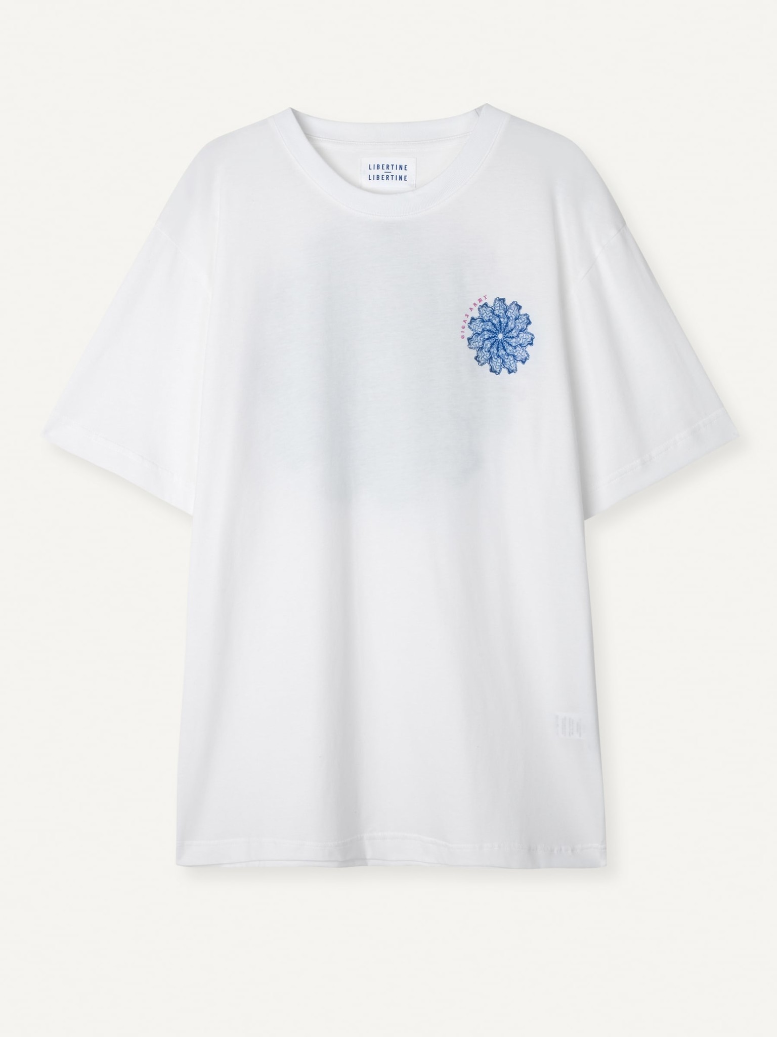 Beat Gigas Army T-Shirt White-3