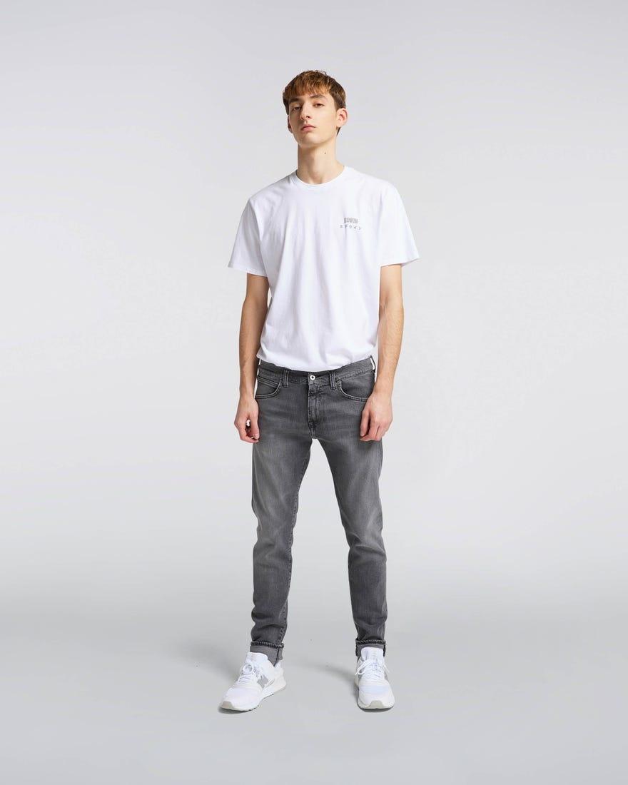 ED 85 Ayano Grijze Kentaro Wassing Jeans-1