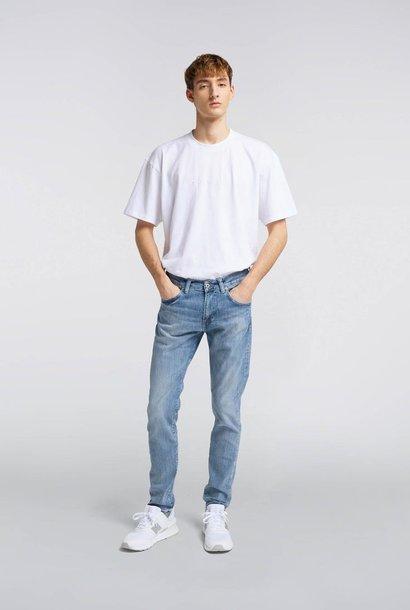 ED 85 Yuuki blauwe slim jeans