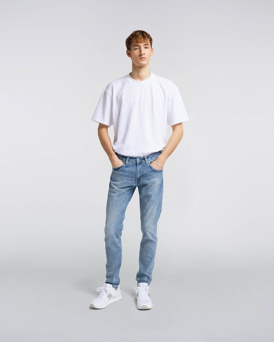 ED 85 Yuuki Blue Slim Jeans-1