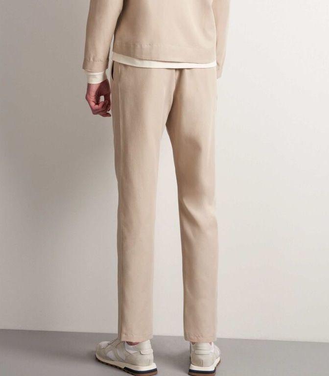 Tarek T-Track Pants Feather Sand-3