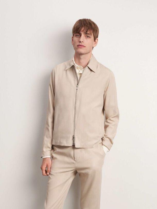 Maddon Jacket Feather Sand-1
