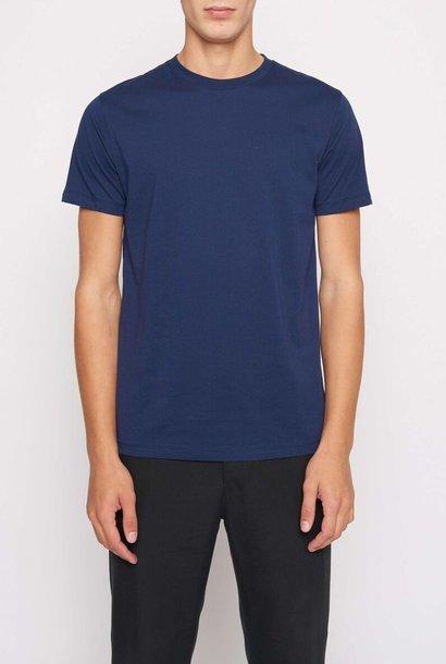 Fleek Regular Cotton T-shirts Indigo Blue