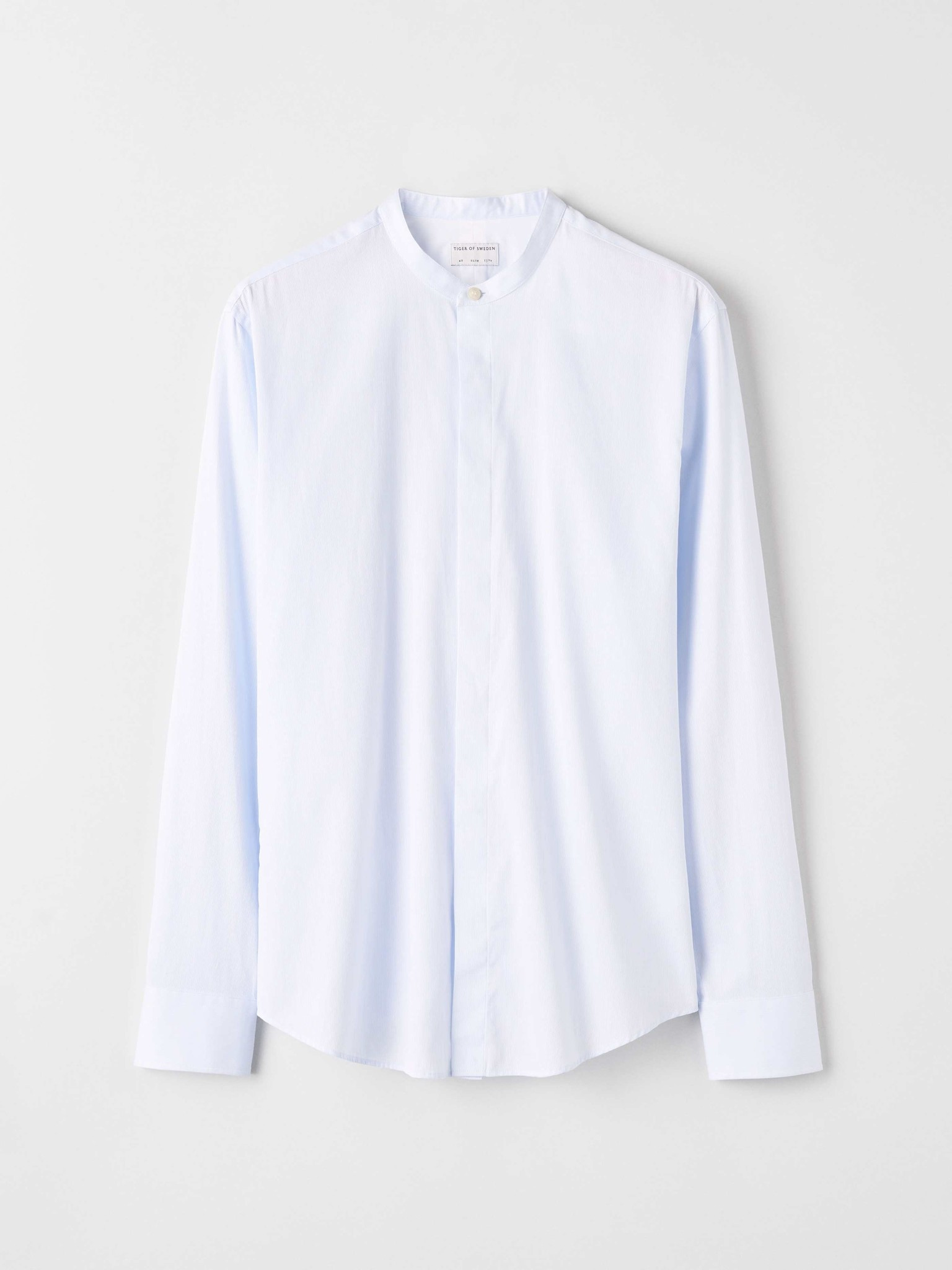 Forward Short Collar Strip Shirt-1