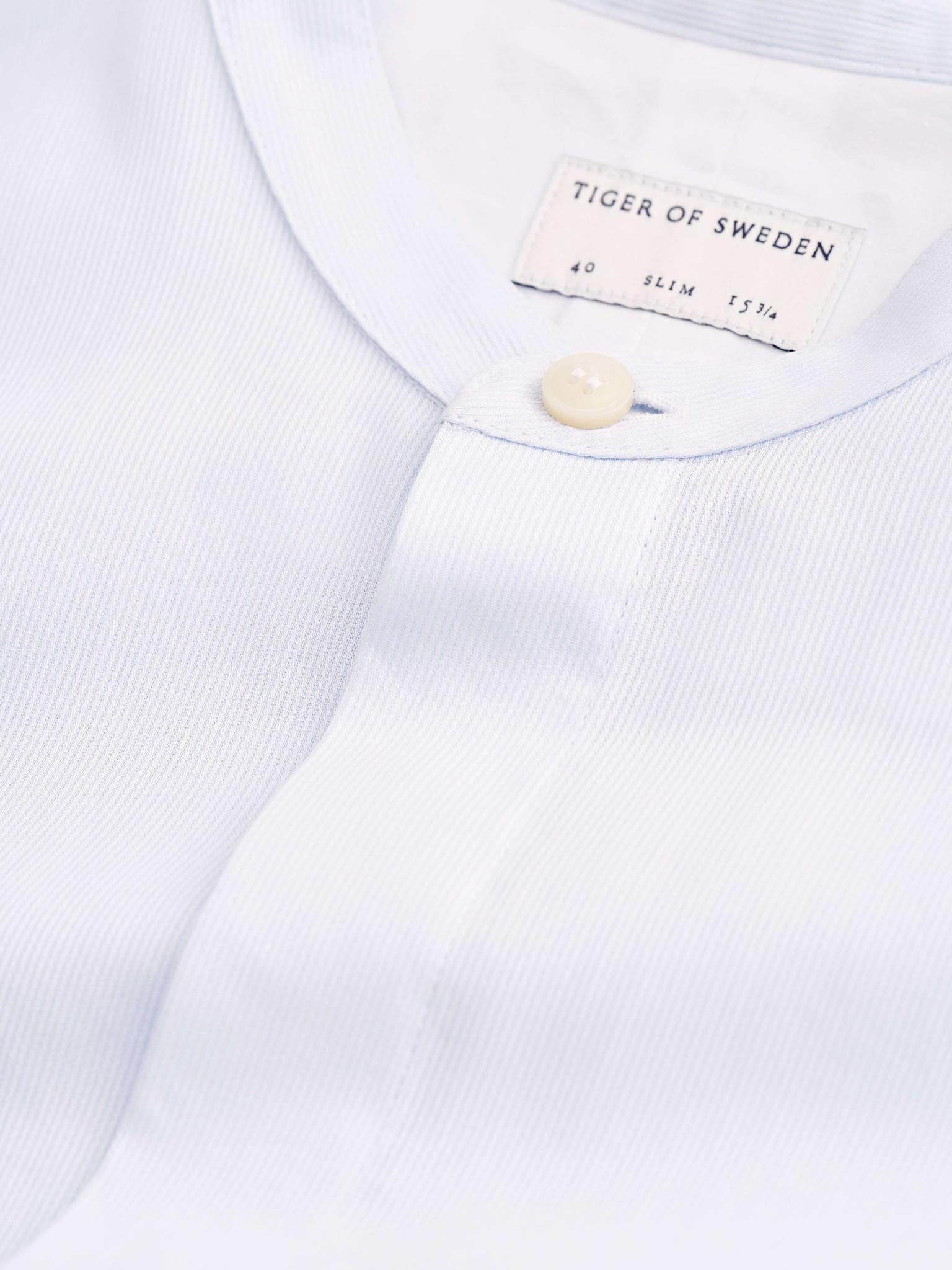 Forward Short Collar Strip Shirt-3