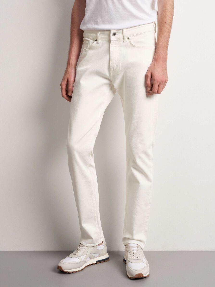 Rex Natural White Wash Jeans-1