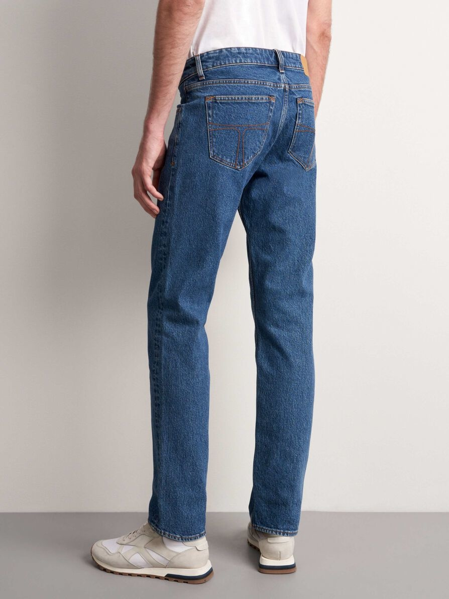 Rex. Medium Blue Wash Jeans-2