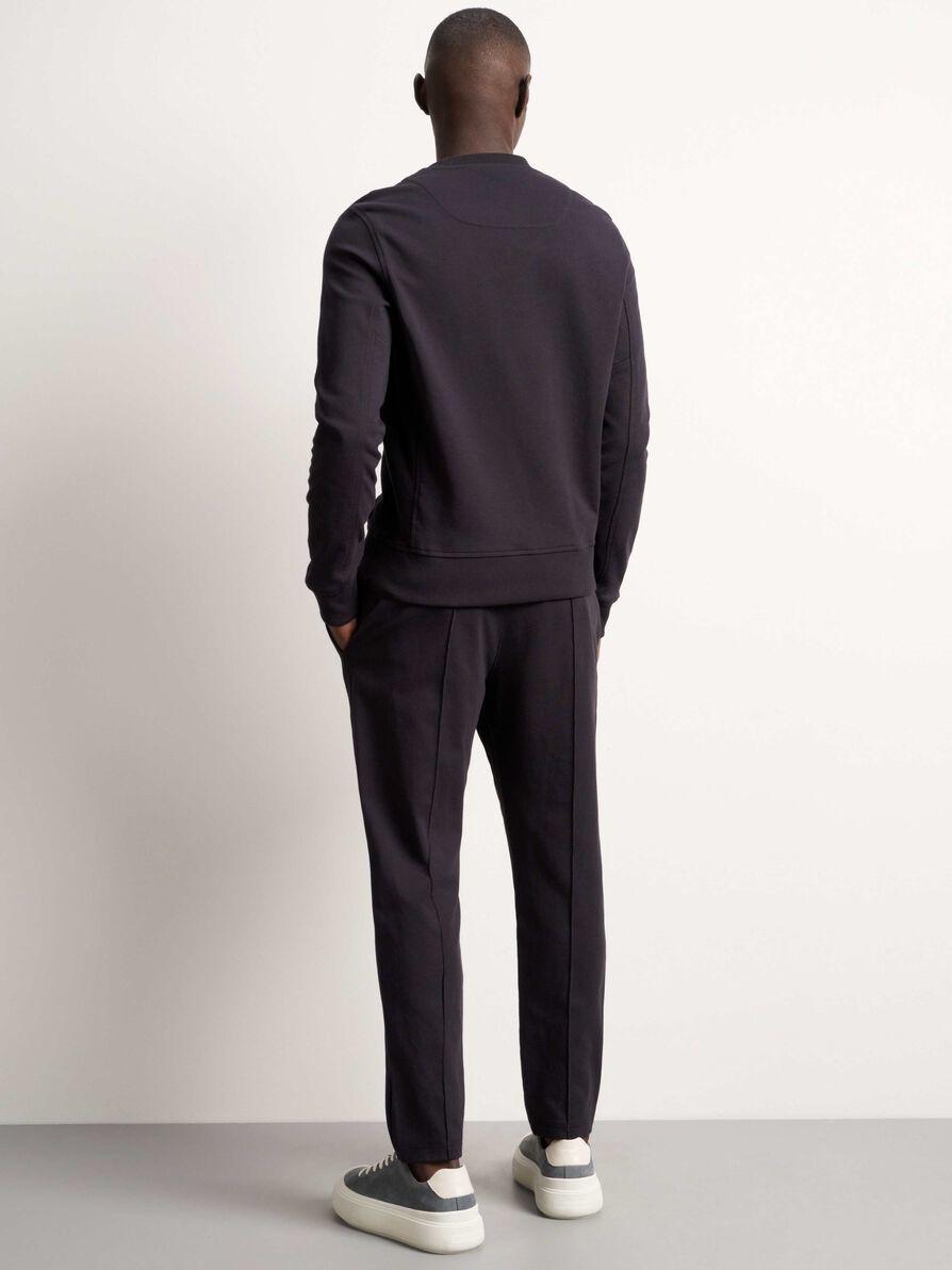 Syon Cotton Track Pants Ink Blue-3