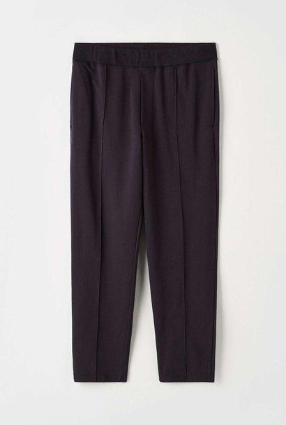 Syon Cotton Track Pants Ink Blue