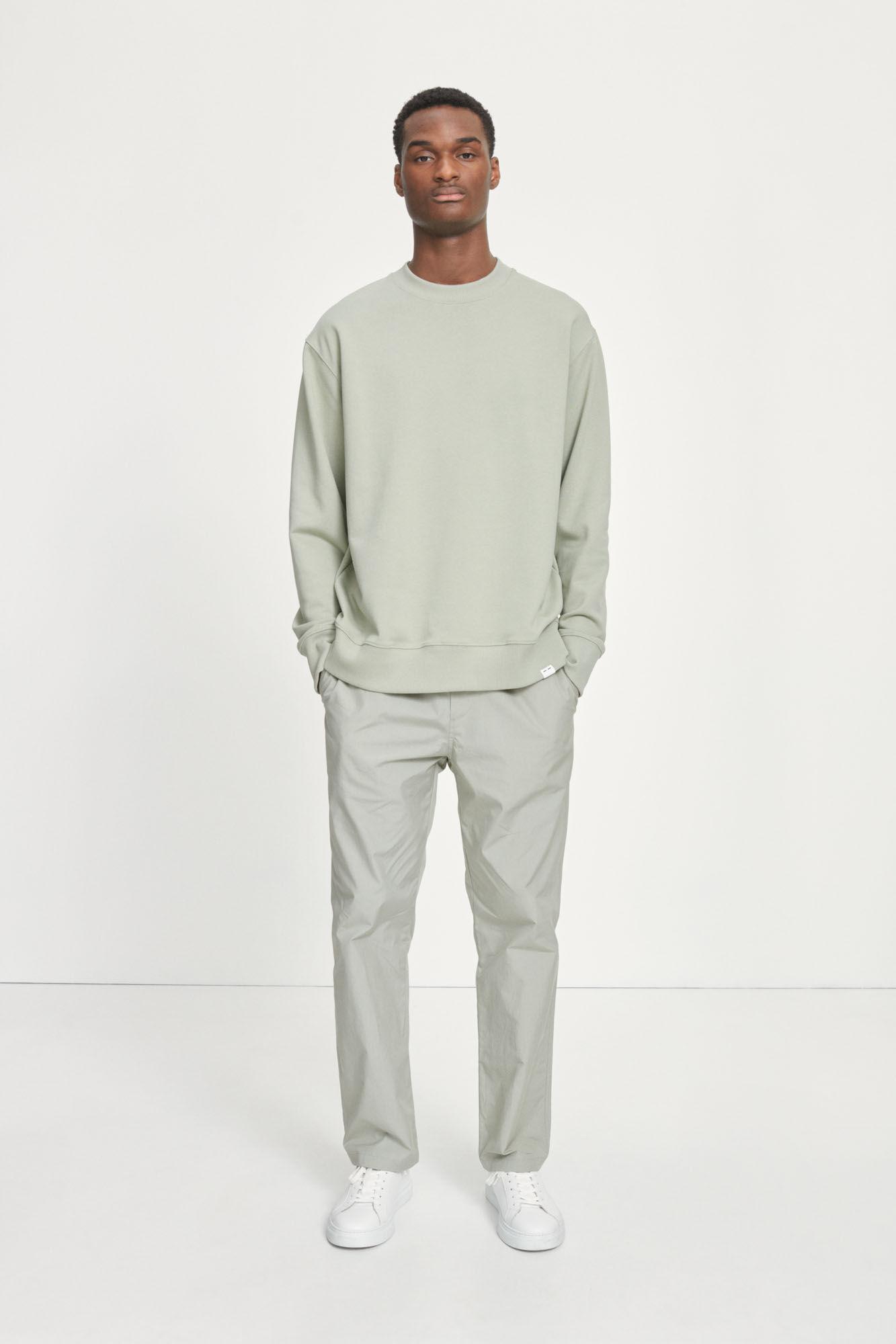 Toscan Sweatshirt Zeegras Groen-1