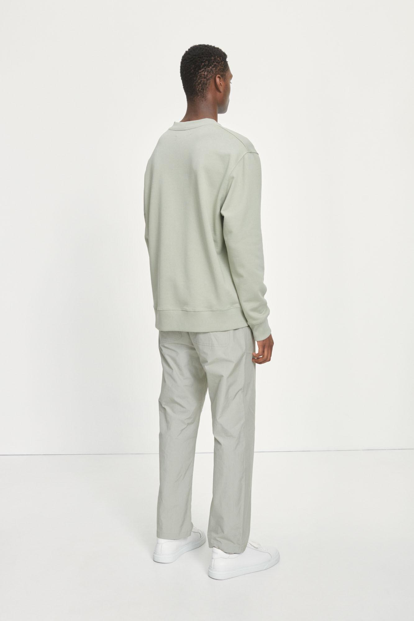 Toscan Sweatshirt Zeegras Groen-3