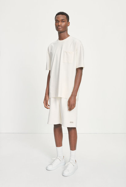 Samsoe Undyed M Oversized T-Shirt Natural White