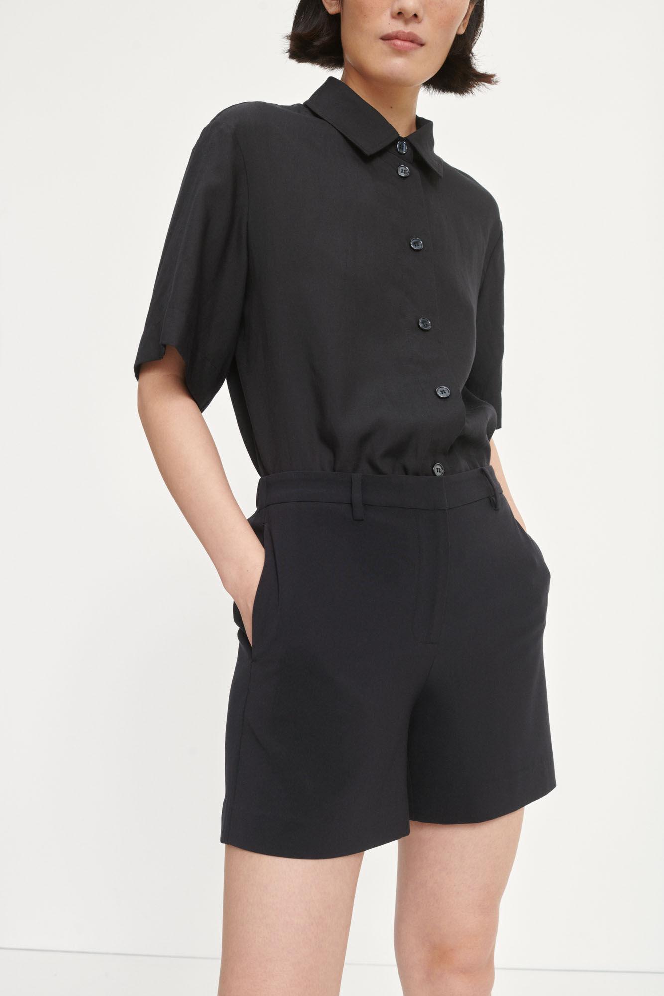 Hoys Shorts Pants Black-1
