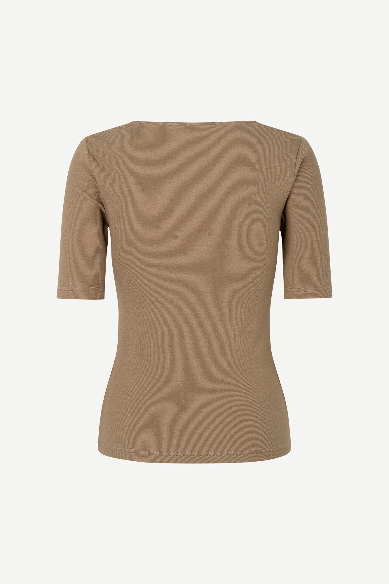 Alexo T-Shirt Caribou Brown-2
