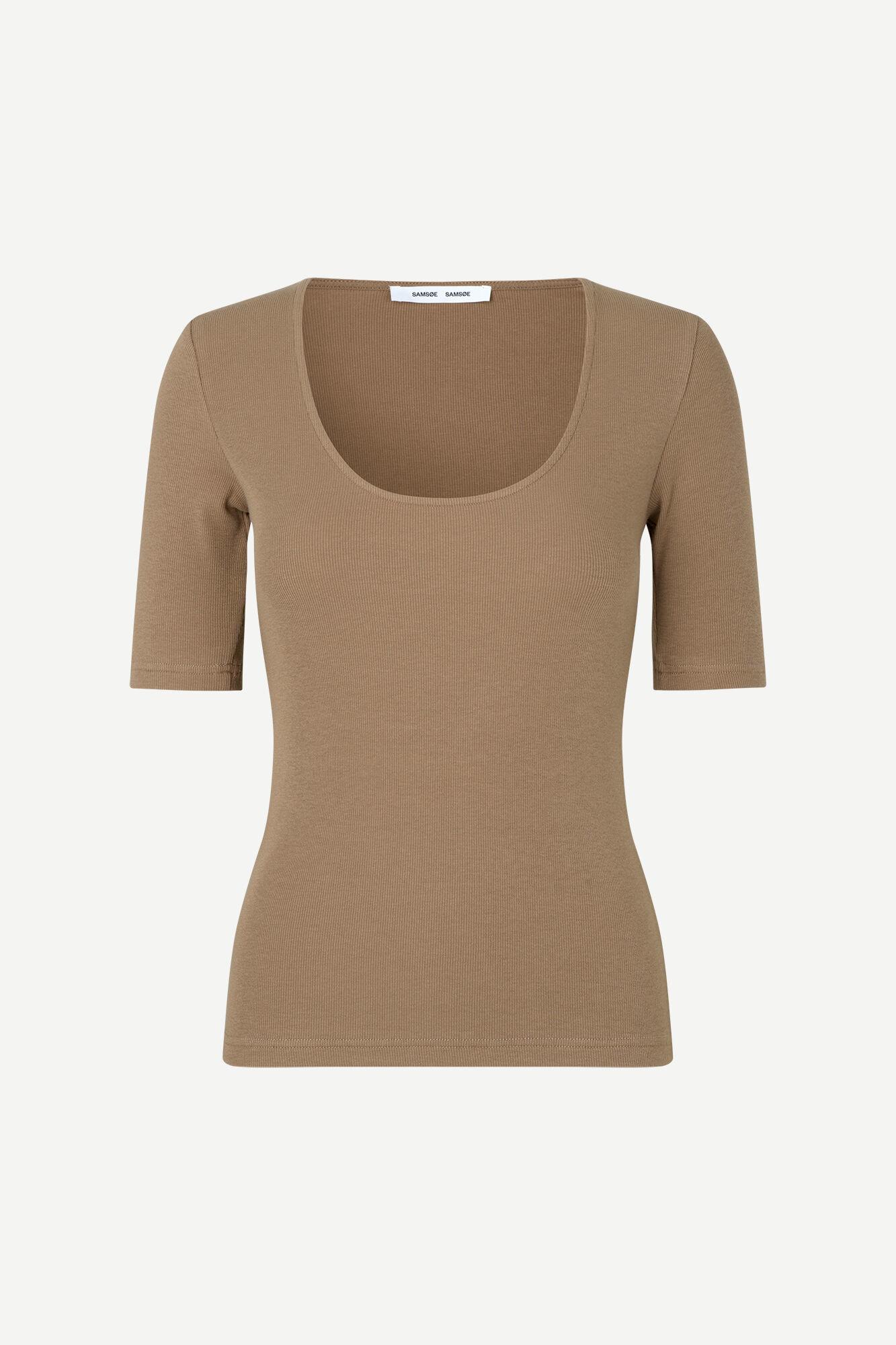 Alexo T-Shirt Caribou Brown-1