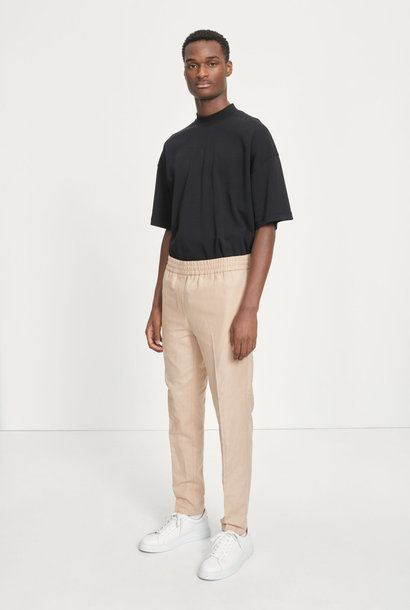Smithy Relaxed Fit Trouser Linnen Sand