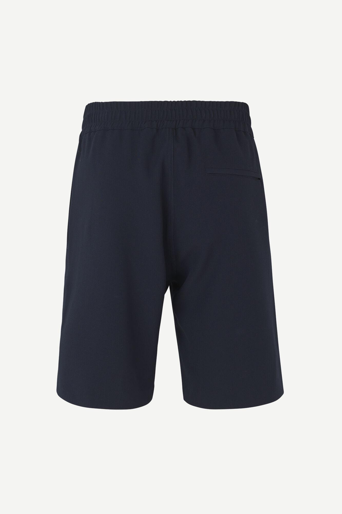 Samsoe Samsoe Smith Summer Shorts Navy Blue-2