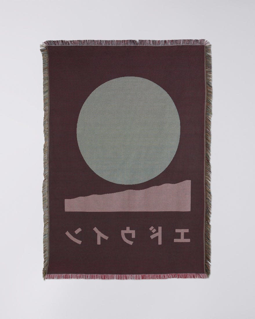 Edwin White Cotton Made In Japan Blanket-4