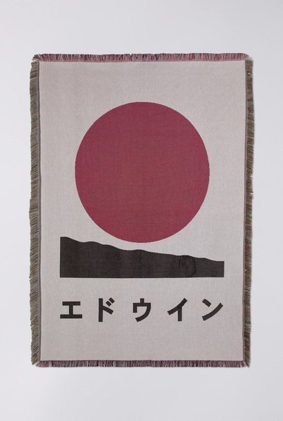 Edwin White Cotton Made In Japan Blanket