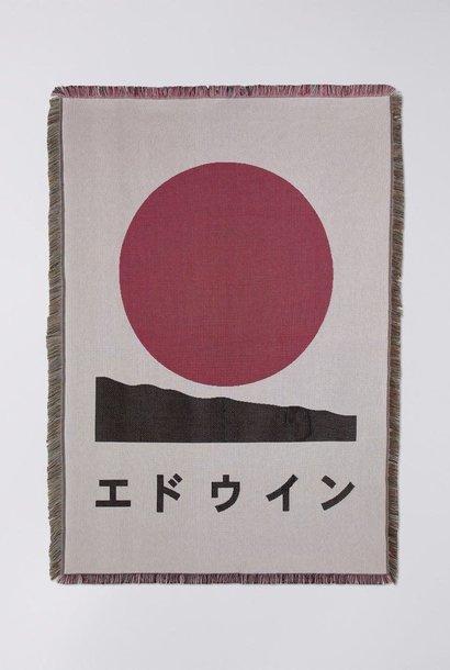 Edwin Wit 100% Katoen Deken Japanse Zon