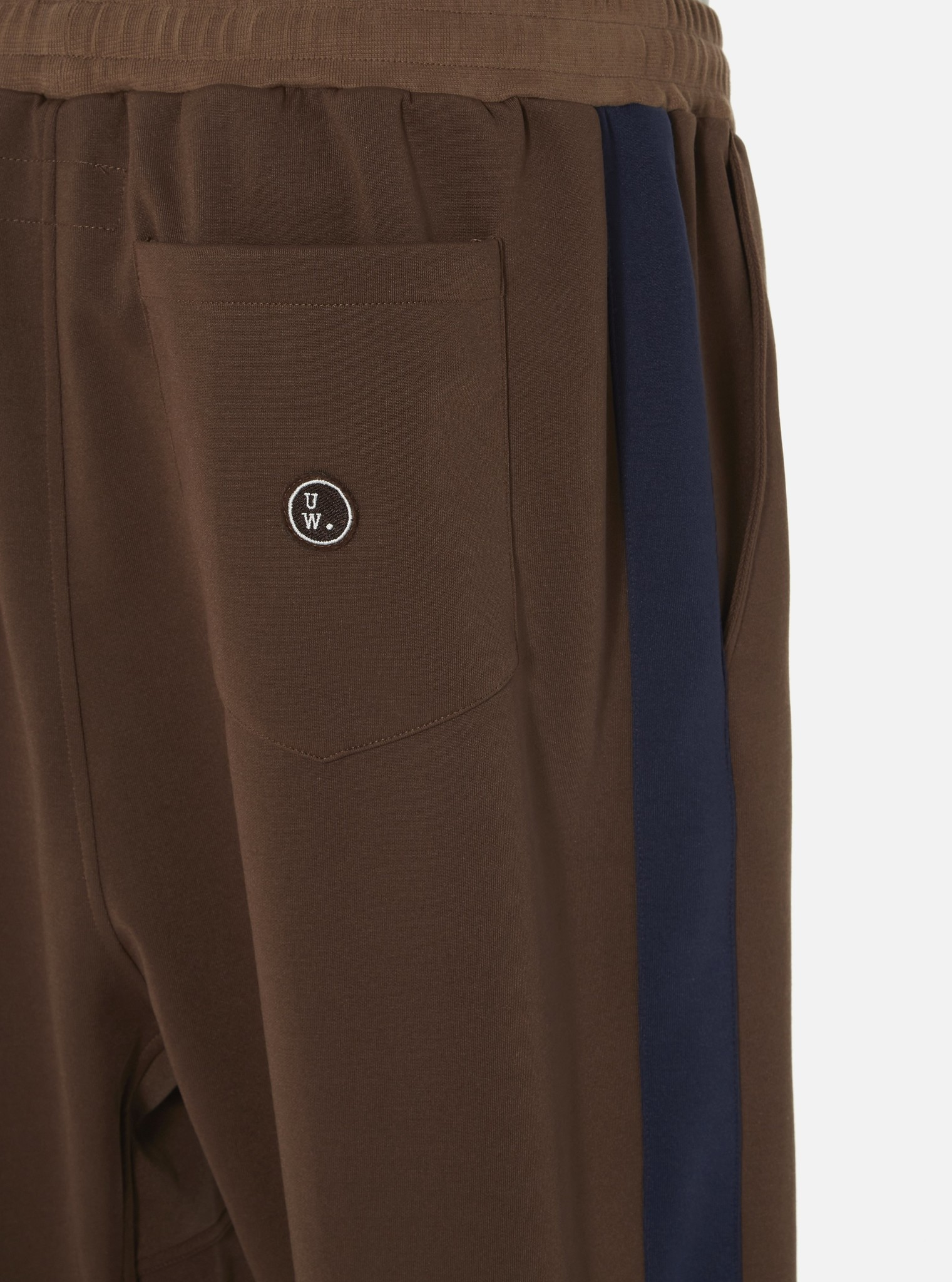K Track Pant Recycled Tricot Brown-2