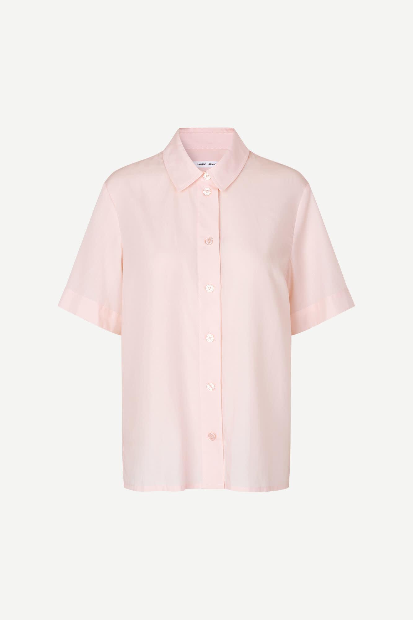 Overhemd met korte mouwen Bansa Crystal Pink 10554-1