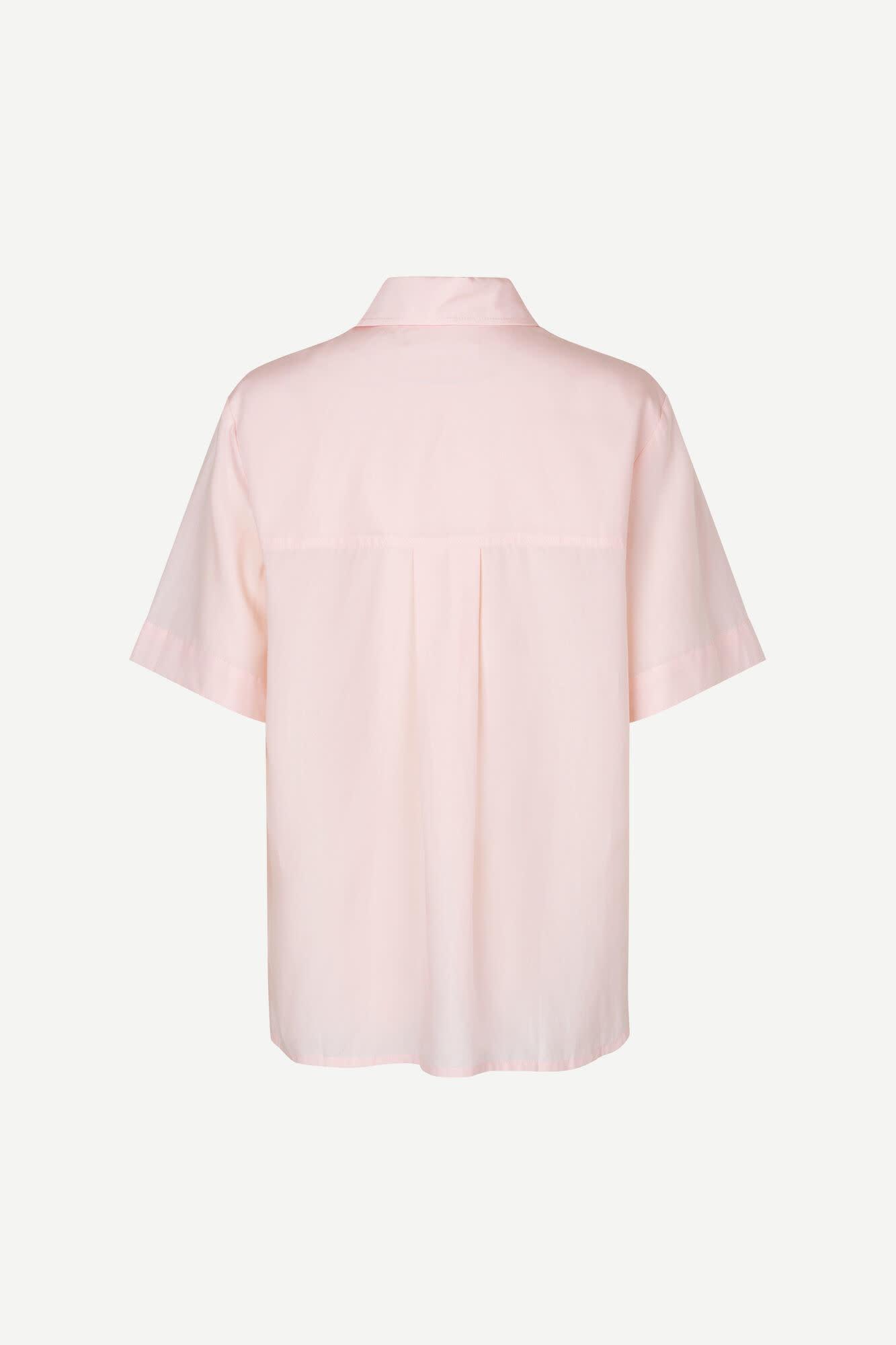 Overhemd met korte mouwen Bansa Crystal Pink 10554-2