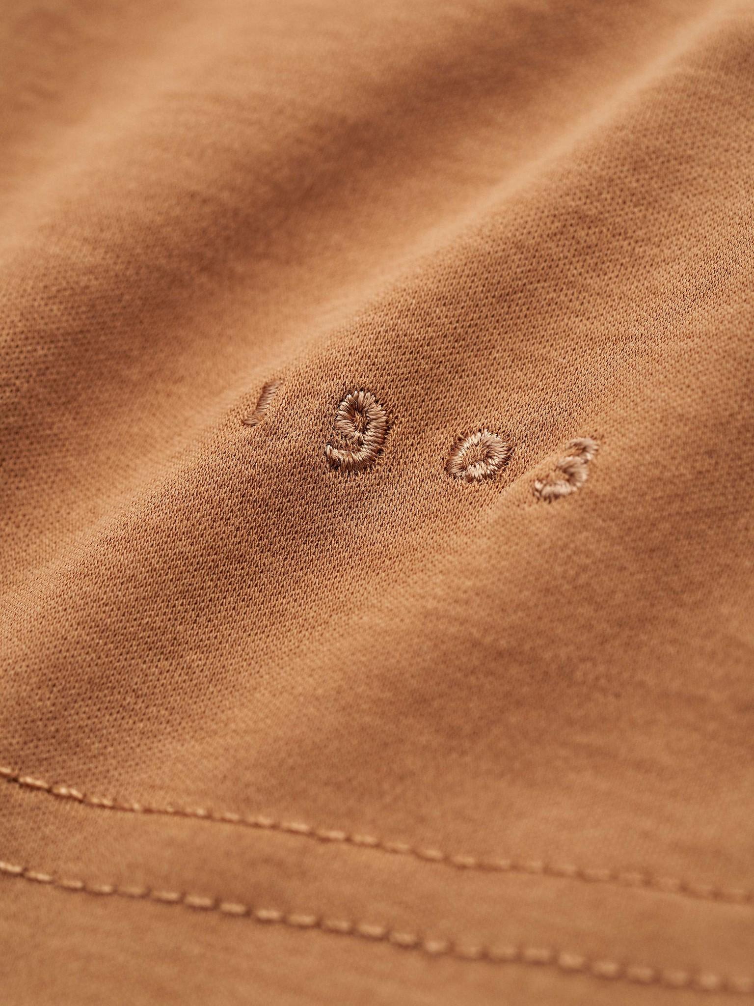Laron Flat Collar Polo Brown-2