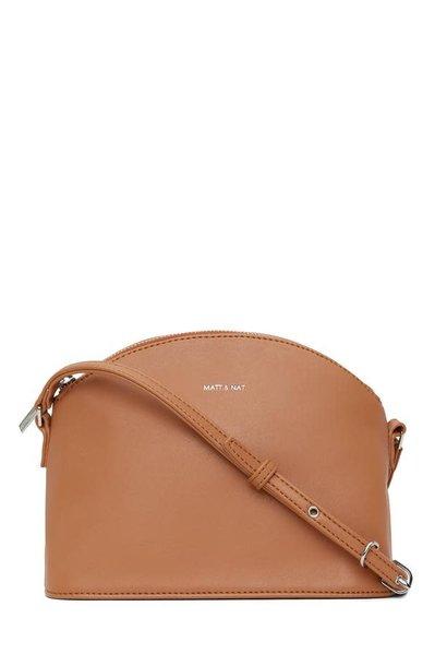 Leona Loom Crossbody Bag Maple Brown
