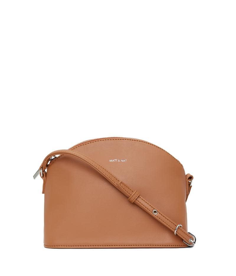Leona Loom Crossbody Bag Maple Brown-1