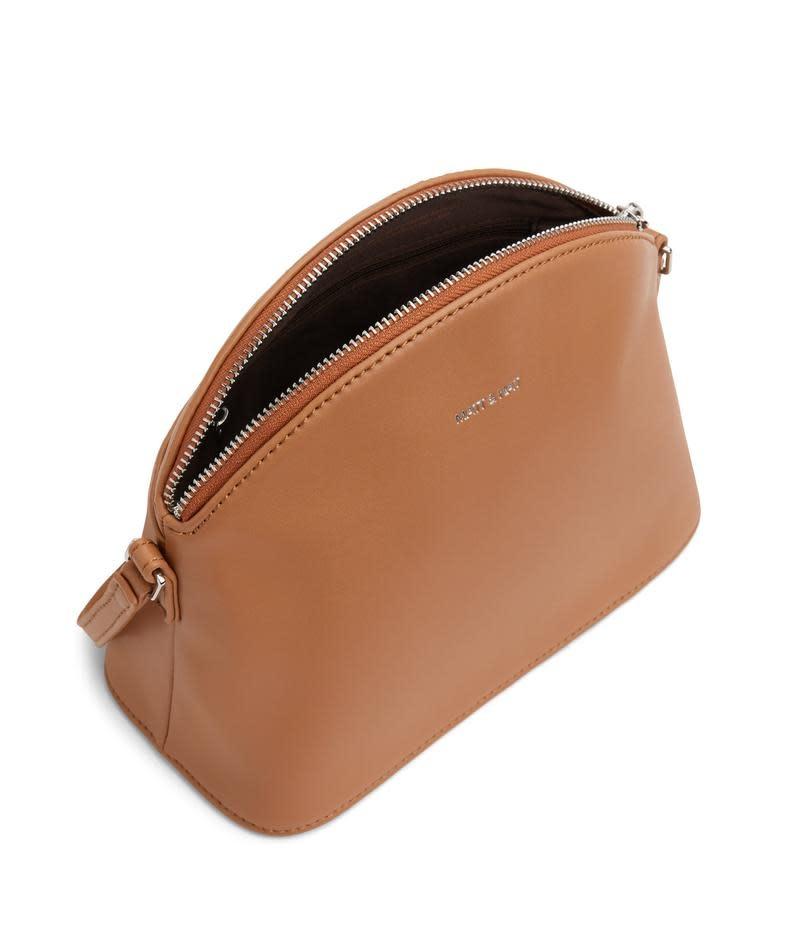 Leona Loom Crossbody Bag Maple Brown-2