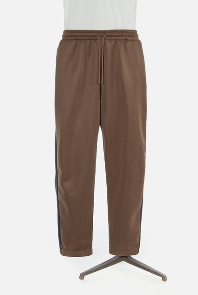 K Track Pant Gerecycled Tricot Bruin