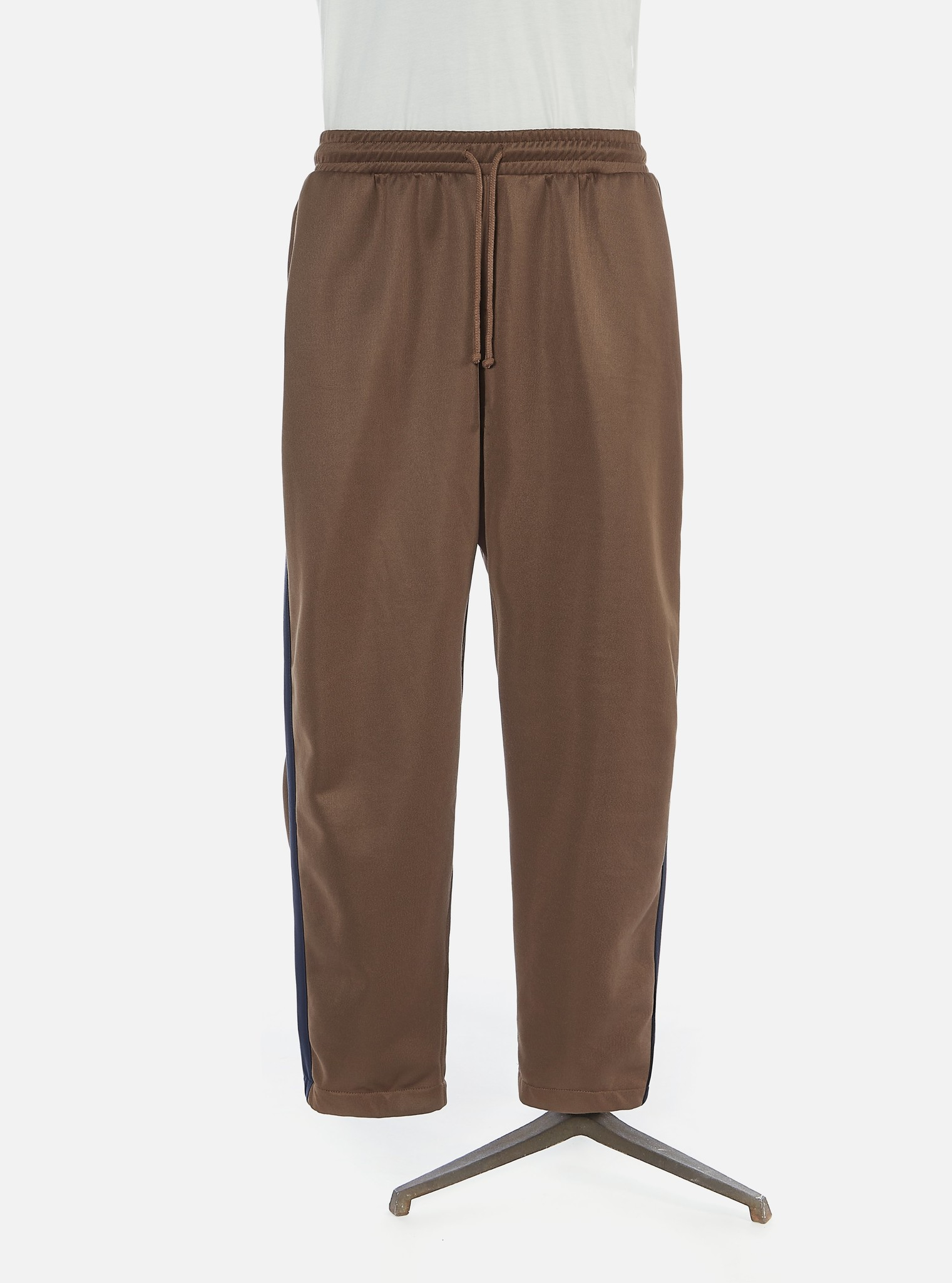 K Track Pant Gerecycled Tricot Bruin-1