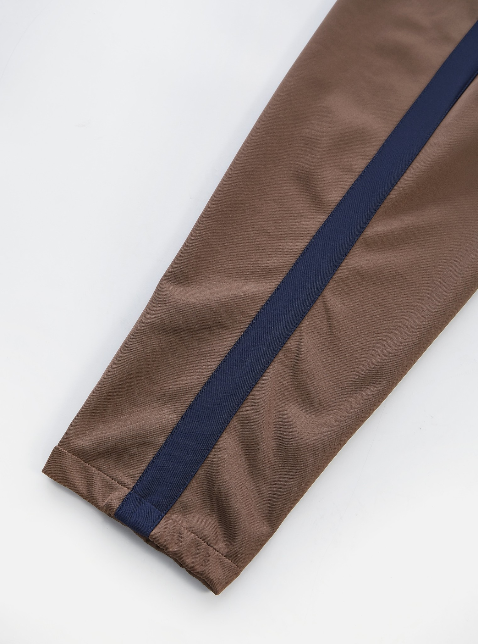 K Track Pant Gerecycled Tricot Bruin-4