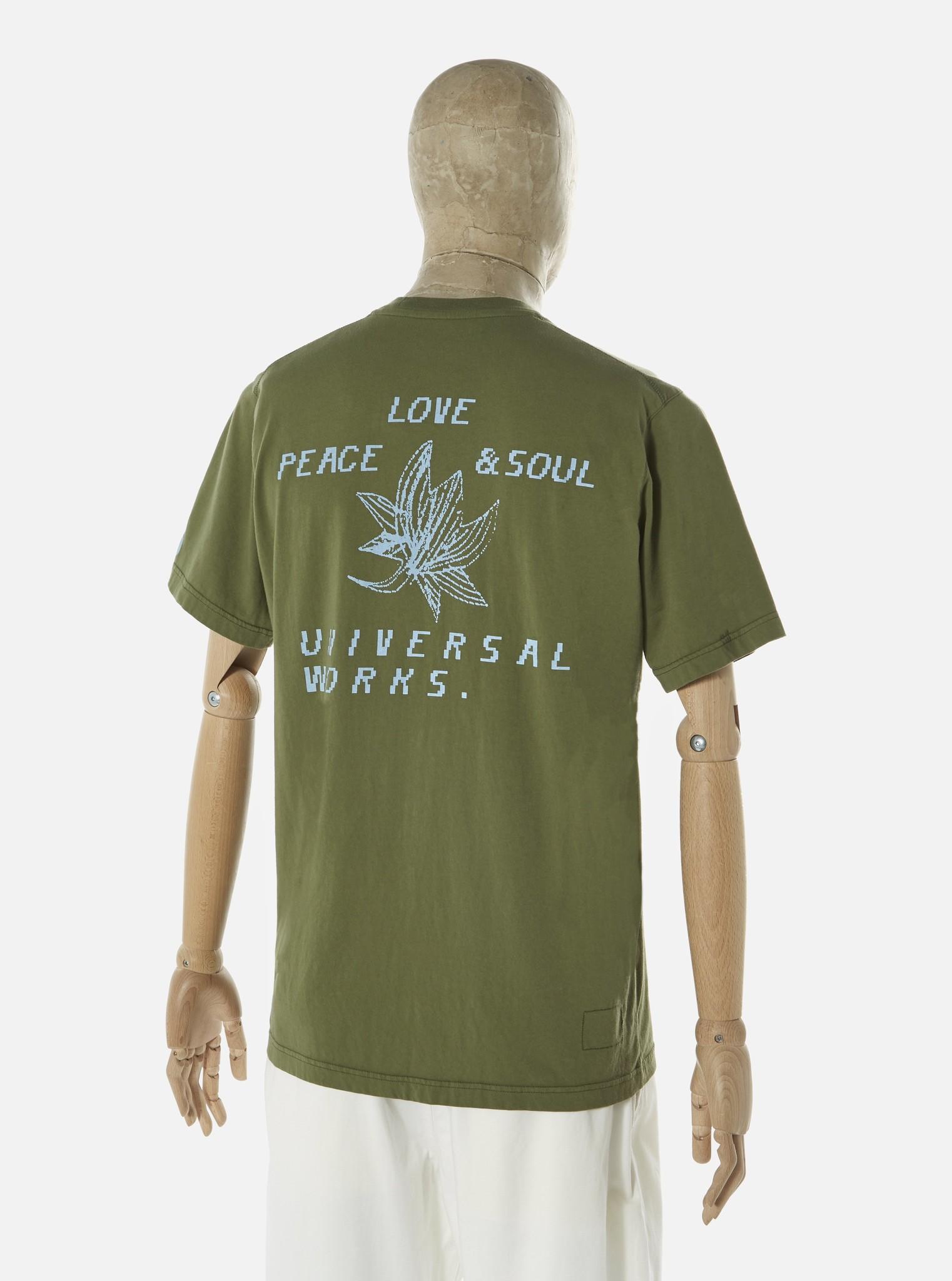Biologisch T-Shirt Lotus Katoen Olijf Groen-2