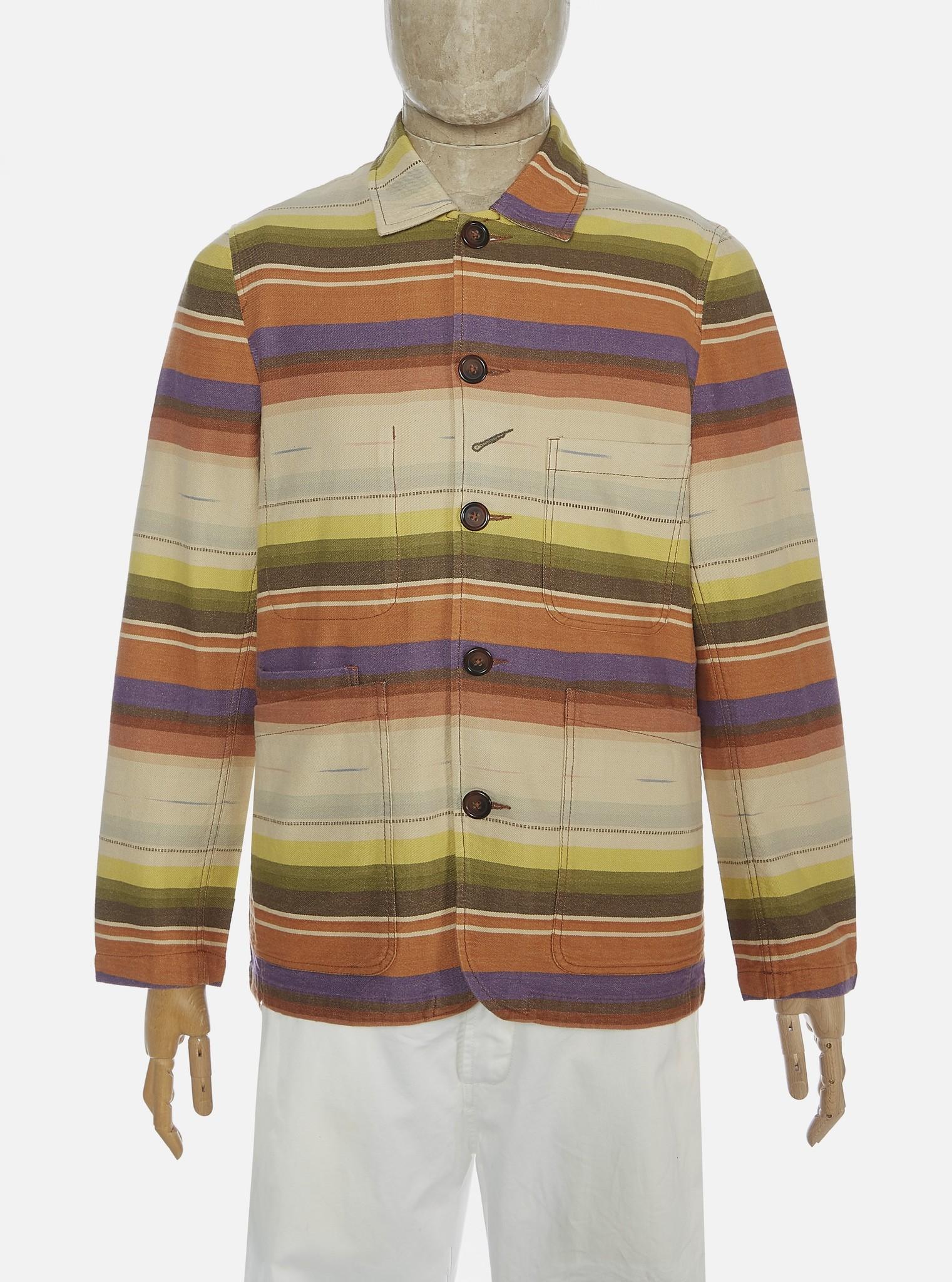 Bakers Jacket multi Stripe Mex Blanket-1